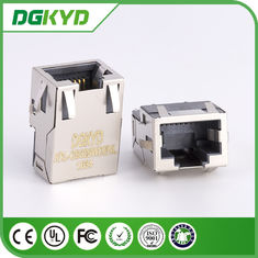 China KRJ-CB329WDENL Metall schirmte 10/100/1000 Verbindungsstück cat6 flaches rj45 mit Transformator ab usine