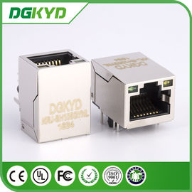 China Verbindungsstück KRJ-SH105GYNL cat5 8 Stift rj45 mit LED, 100 BASIS - TX distributeur